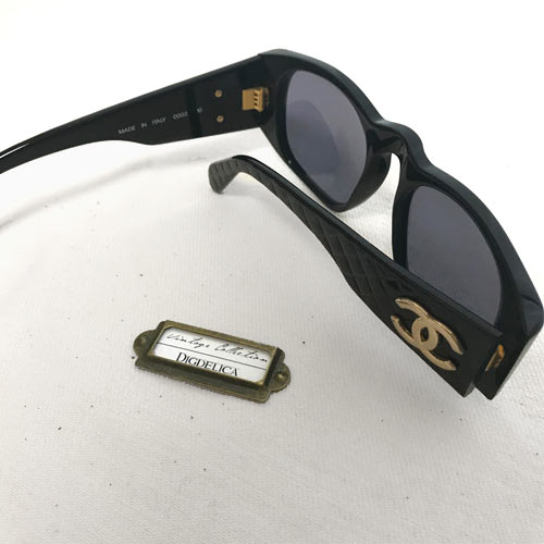 CHANEL シャネル ヴィンテージ マドモアゼルサングラスv1419 DIGDELICA Vintage CHANEL MADE IN ITALY イタリア製QrxCdBoWEe