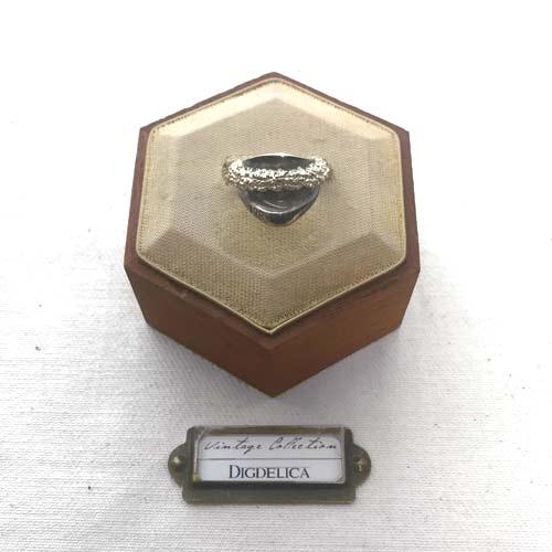 ヴィンテージ シルバーリング 指輪 vintage silver ring v1421【DIGDELICA】ディデリカ UESD中古品 SILVER925