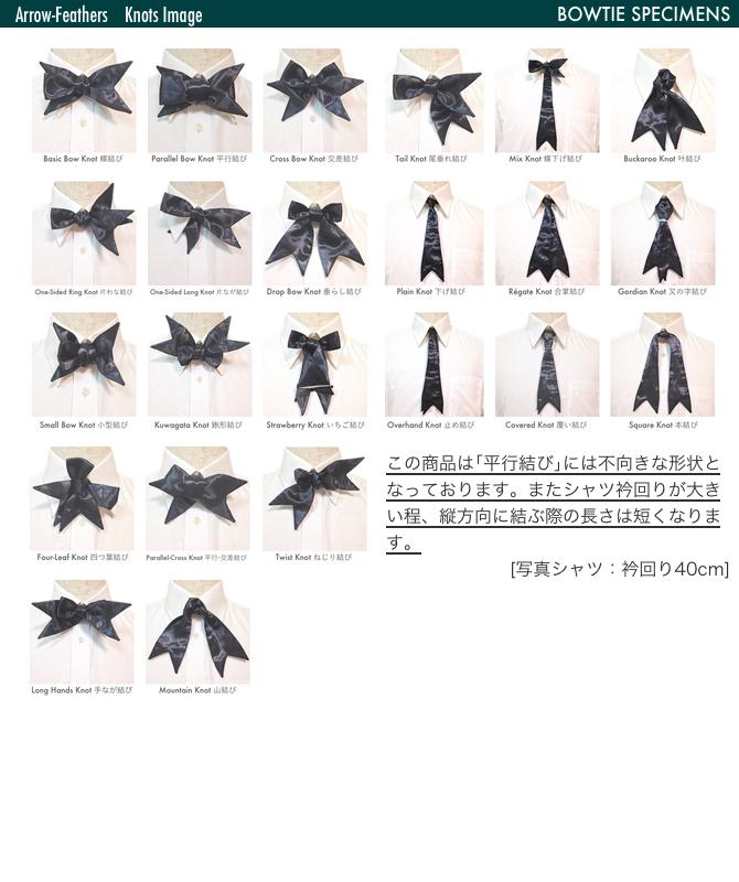 Hand tied bow tie / arrowhezards