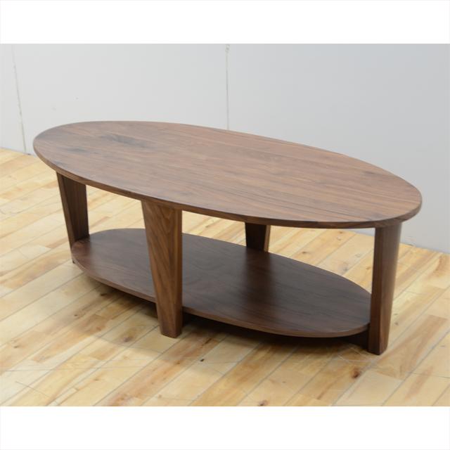 センターテーブル ローテーブル リビングテーブル コーヒーテーブル てーぶる 幅110cm ブラウン 木製 北欧風