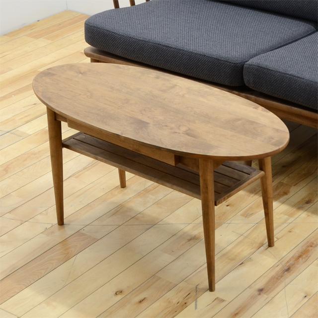 センターテーブル ローテーブル リビングテーブル コーヒーテーブル てーぶる ブラウン 木製 北欧風