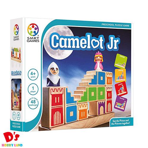 おもちゃ 男の子 女の子 知育玩具 脳トレゲーム プレゼント 別倉庫からの配送 SMRT Games キャメロット 4才から SG031JP Jr パズル ジュニア Camelot ドリームブロッサム オープニング 大放出セール