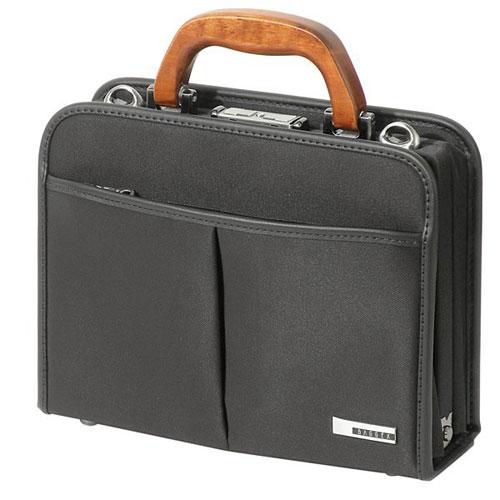 ビジネスバッグ BAGGEX 日本製 Sサイズ 取っ手に桜の木を使用 ウノフク 24-0293