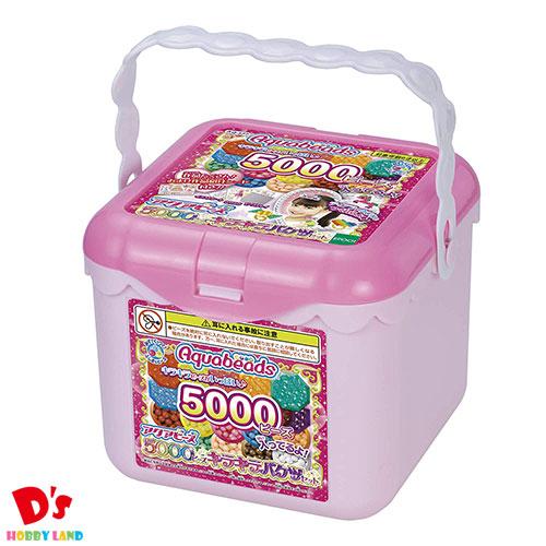 おもちゃ 女の子 メイキングトイ 誕生日 お得なキャンペーンを実施中 プレゼント ギフト 5000ビーズキラキラバケツセット エポック社 5000 AQ-S77 6才から 販売期間 限定のお得なタイムセール アクアビーズ