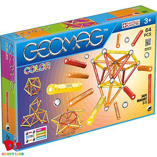 おもちゃ 男の子 女の子 売買 知育玩具 図形 磁石 幾何学 集中力 ゲオマグワールドジャパン カラー 262 6才から 低廉 創造力 64 教材 ゲオマグ