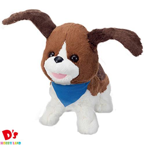 おもちゃ 新色 電子ペット 犬 ぬいぐるみ 男の子 女の子 パタパタおみみの おさんぽニコ イワヤ 3才から 電動ぬいぐるみ セットアップ 誕生日