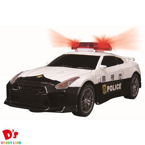 おもちゃ 男の子 タイムセール 車 警察 ギフト 初心者 アウトドア プレゼント ラジコン ジョーゼン 1 32 JRVC067-WH NISSAN パトカー 6才から 注文後の変更キャンセル返品 GT‐R