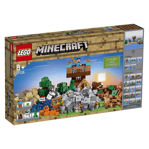 レゴ マインクラフト クラフトボックス 2.0 LEGO 21135 8歳から