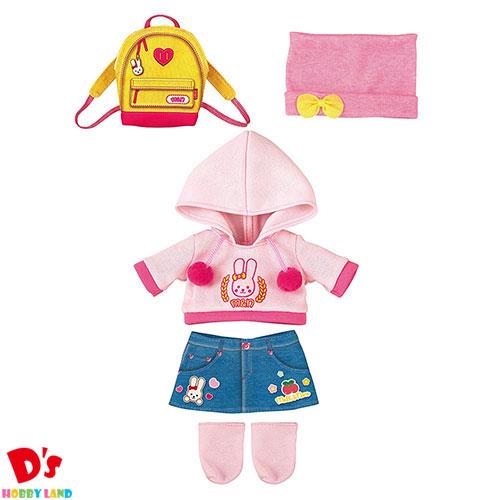 おもちゃ 女の子 知育玩具 ままごと 洋服 カジュアル リュック メルちゃん きせかえセット おでかけパーカーセット パイロットインキ 3才から