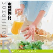 素材辞典[R(アール)] 027 インテリア・ウーマンズライフ【メール便可】