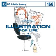DAJ 168 ILLUSTRATION POP LIFE【メール便可】