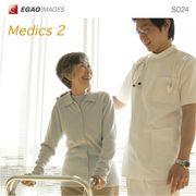EGAOIMAGES S024 医療介護「医師と看護師と患者2」【メール便可】