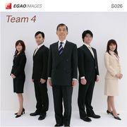 EGAOIMAGES S026 ビジネス「チーム4」【メール便可】