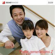 EGAOIMAGES S029 ファミリー「三世代家族2」【メール便可】