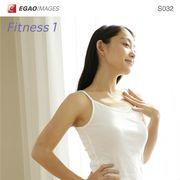 EGAOIMAGES S032 若い女性「フィットネス1」【メール便可】