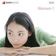 EGAOIMAGES S035 若い女性「ウーマン1」【メール便可】