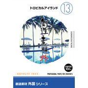 創造素材 外国シリーズ[13]トロピカルアイランド【メール便可】