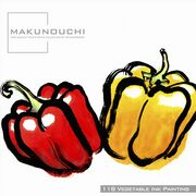 Makunouchi 118 Vegetable Ink Painting【メール便可】