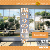 MIXAイメージライブラリーVol.329 陽当りの良い家【メール便可】