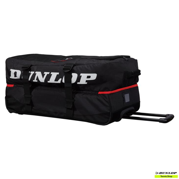 テニス【ダンロップ】DUNLOP キャスターバッグ(ラケット収納可)(DPC-2983)