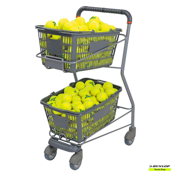 テニス【ダンロップ】DUNLOP ボールカゴ TC-030