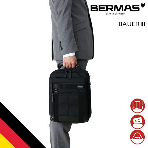 【バーマス公式直営】BERMAS バーマス BAUER3 ビジネス カジュアル 60066 ショルダーM ドイツブランド BAUER 1680D テフロン ビジカジ ショルダー 2WAY 撥水性 通勤