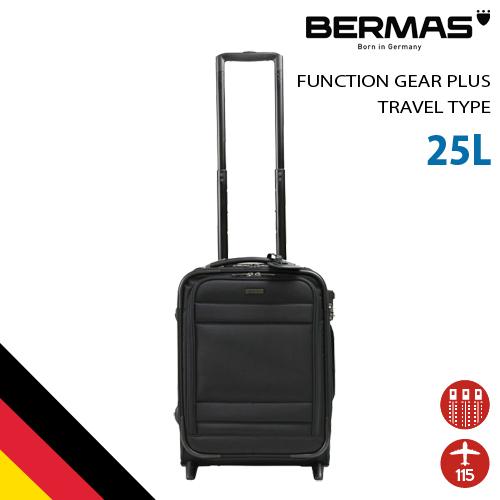 バーマス公式直営 BERMAS バーマス ビジネスキャリー 60422 ファンクションギア プラス ドイツブランド ビジネス スーツケース 25L 高機能 キャリーケース キャリーバッグ TSAロック 機内持込サイズ 2輪 キャスター 交換対応 出張