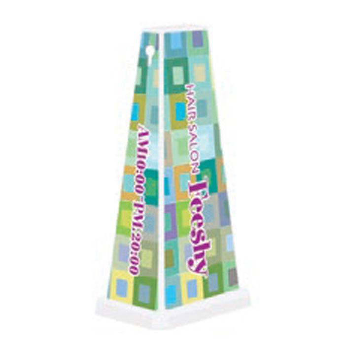 ミセルメッセージポールワイド HAIR SALON / 店舗名 置き看板 /ot-550-750-W014