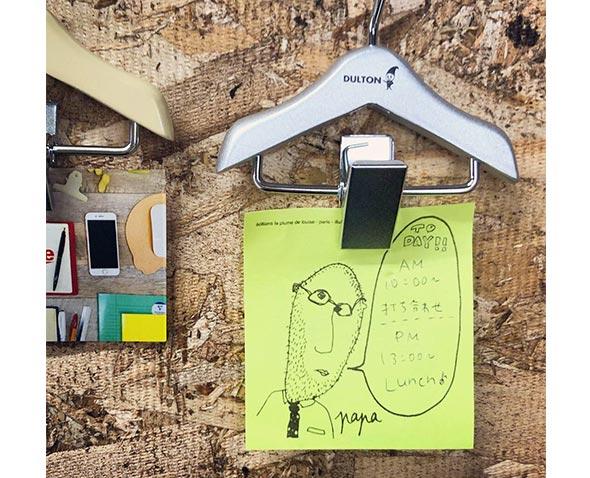メモンガー Memonger clip stationery stationery miscellaneous goods stationery  kids colorful import display interior kitchen memo slip holder dalton  fashion