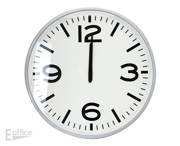 メタル 壁掛け 大きな丸い時計デザイン 時計 雑貨 インテリア ディスプレイ 大きい 静か ウォッチ 音がしない 秒針なし おしゃれ イーオフィス