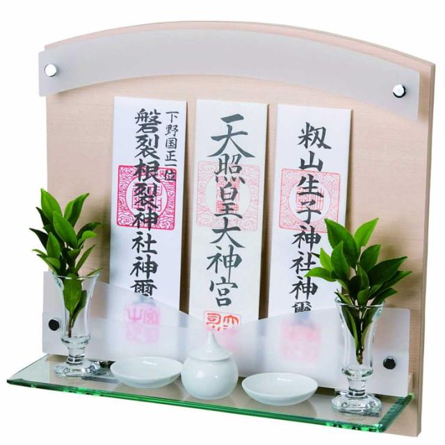 神棚 壁掛けタイプ 標準サイズ ヒノキ 檜 Neo 410-G シンプル デザイン 国産 お供え