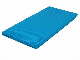 ウェルファン  ベッドマットレス ハード&ソフト 001141 ブルー 90×191cm レギュラー  [介護 ケア 介護用品 床 服]