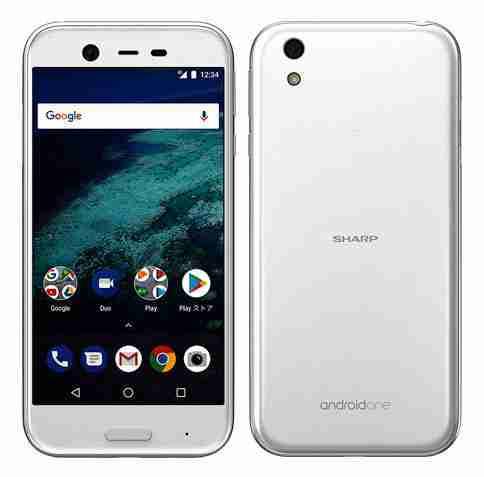 白ロム 中古 SIMフリー Android One X1 ホワイト 本体のみ [Bランク]