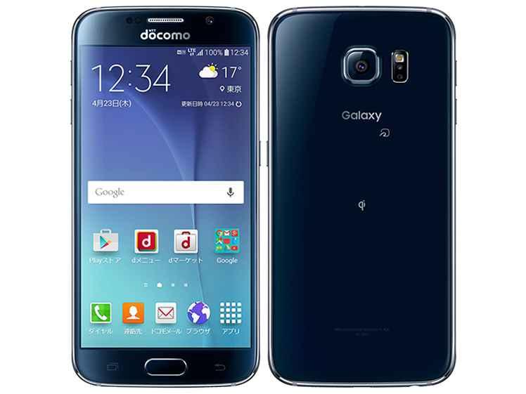 白ロム 中古 SIMロック解除済み docomo Galaxy S6 SC-05G ブラック 本体のみ [Cランク]