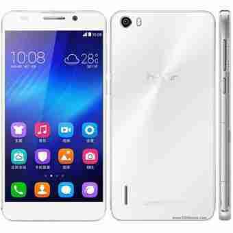 白ロム 中古 SIMフリー Huawei honor6 Plus PE-TL10 ホワイト 本体のみ [Bランク]