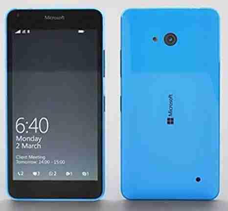 白ロム 中古 SIMフリー Microsoft Lumia 640 RM-1096 8GB ブルー 標準セット [Bランク]