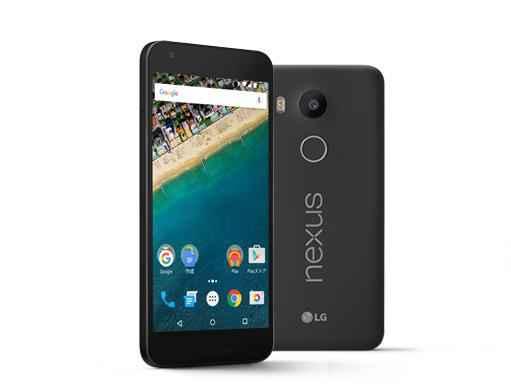 白ロム 中古 SIMフリー Nexus 5x LG-H791 16GB ブラック 本体のみ [Bランク]