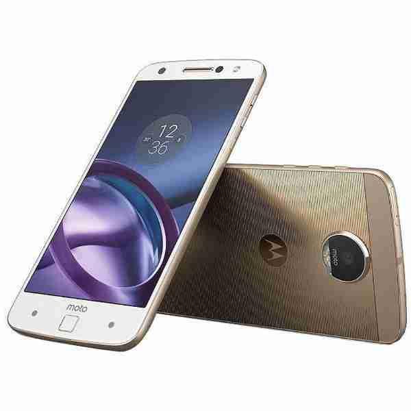 白ロム 新品 未使用品 SIMフリー モトローラ スマートフォン Moto Z ホワイト 標準セット