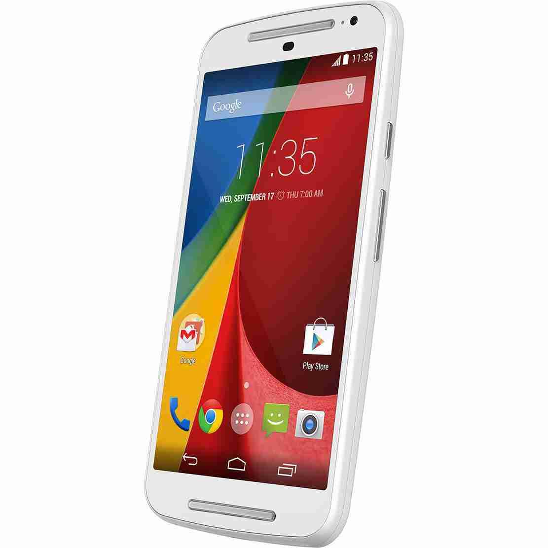 白ロム 中古 SIMフリー Motorola XT1063 ホワイト 本体のみ [Cランク]