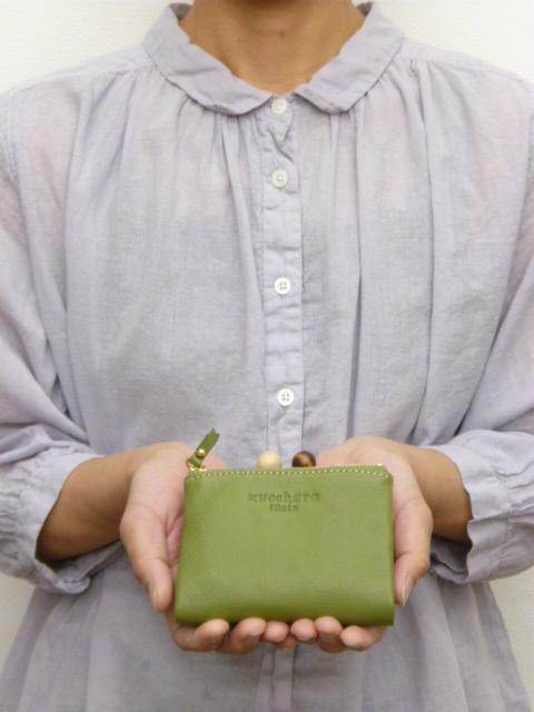 クーポン対象&送料無料!(一部地域を除く) 【15%オフ・クーポン対象!】ズッケロ フィラート zucchero filato サライ 二つ折り 財布 がま口 牛革
