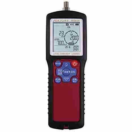 【/在庫有/】DXアンテナ 2K・4K・8K放送BS・110度CS右旋+BS・110度CS左旋帯域(2224~3224MHz)レベル測定が可能地デジ、BS/110°CS、LTE対応レベルチェッカーLC60WS