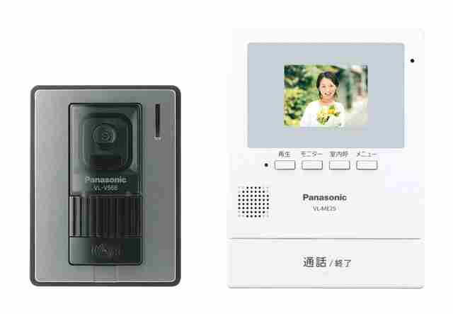あす楽対応 キャンペーンもお見逃しなく 在庫有 新品 Panasonic パナソニック録画機能付テレビドアホン 約2.7型カラー液晶VL-SE25X 電源直結式 一部離島は別途 送料無料 営業 VLSE25XW-ホワイト 沖縄