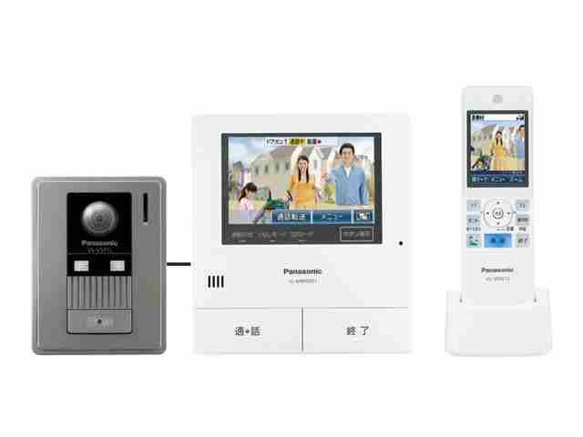【/在庫有/即納】Panasonic パナソニックタッチパネルテレビドアホン どこでもドアホン広角カメラ搭載VL-SWD501KL/VLSWD501KL(電源コンセント式)送料無料(沖縄・一部離島は別途)