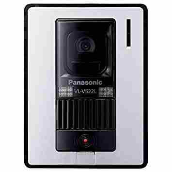 Panasonic パナソニックカラーカメラ玄関子機 VL-V522L-WS