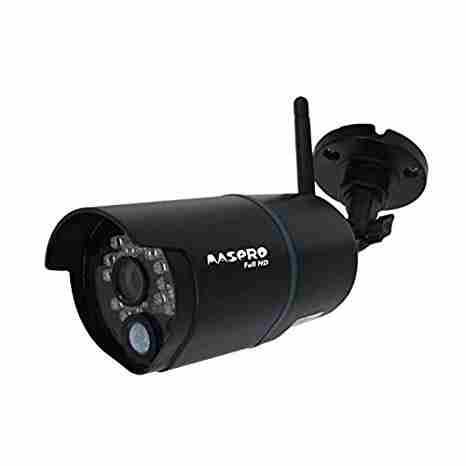【あす楽対応】マスプロ電工屋外用高画質フルHD200万画素ワイヤレスカメラスマートフォン・タブレットで映像を確認WHC7M2の増設用カメラWHC7M2-C