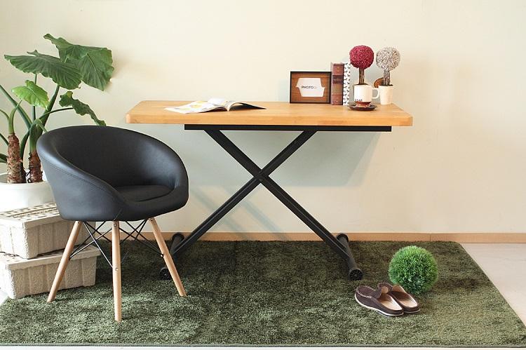 東馬 アルダー リフィティングテーブル リビングテーブル センターテーブル 木製 無垢 北欧風 tohma 人気