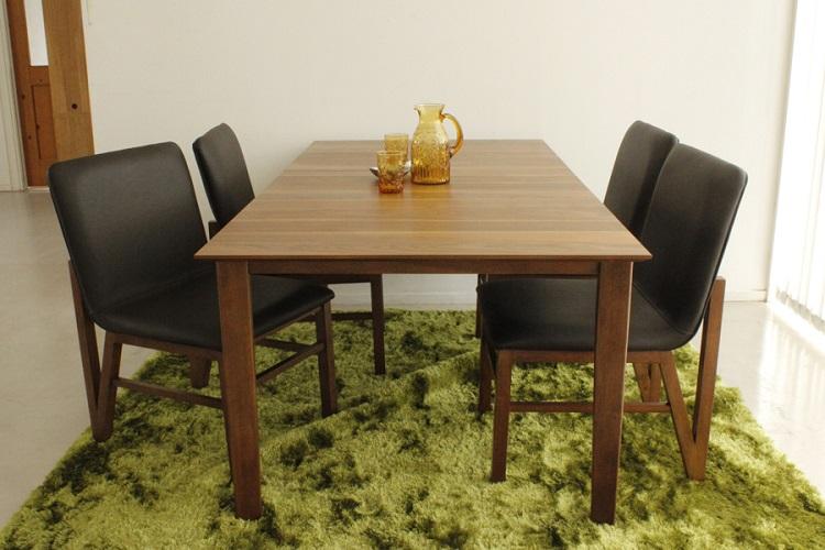 東馬 ブレイス ダイニングテーブル 木製 無垢 150cm-180cm 伸長式 伸縮 北欧風 テーブル tohma 人気