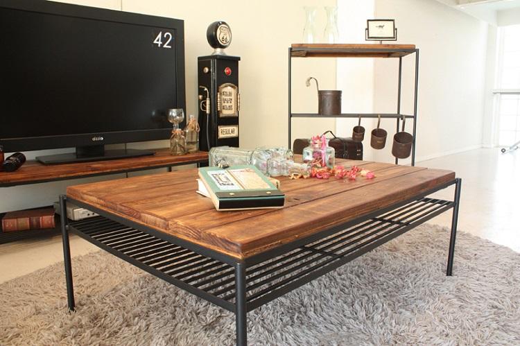 東馬 KeLT ケルト リビングテーブル センターテーブル ローテーブル 木製 無垢 アンティーク調北欧風 tohma 人気