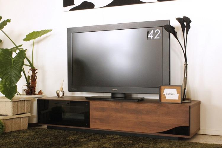 東馬 クアトロ 150cm テレビボード ブラウン 茶色 テレビ台 ローボード 木製 北欧風 リビング収納 TVボード tohma 人気