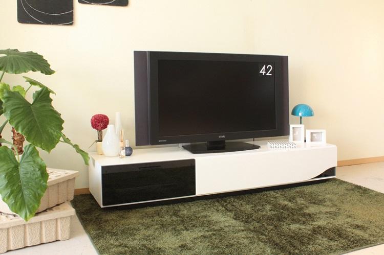 東馬 クアトロ 180cm テレビボード ホワイト 白 テレビ台 ローボード 木製 北欧風 リビング収納 TVボード tohma 人気